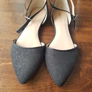 Sole Society Ankle Strap Flats